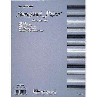 Foglio manoscritto (Deluxe Pad)