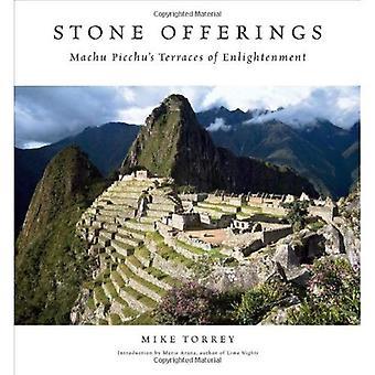 Stone aanbod: Machu Picchu de terrassen van verlichting