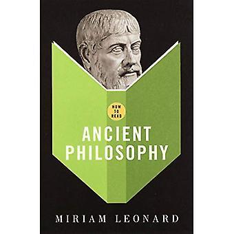 Come leggere la filosofia antica