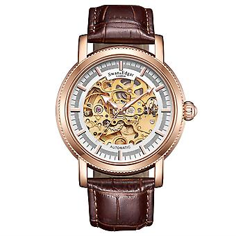 Swan & Edgar Skeleton Automatic Mens Watch