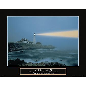 Vision - Lighthouse Poster Print by Frontline