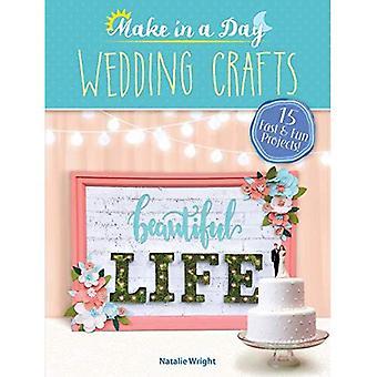 Zrobić w ciągu dnia: ślubne rękodzieło