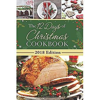 De 12 dagen van Kerstmis Cookbook 2018 editie