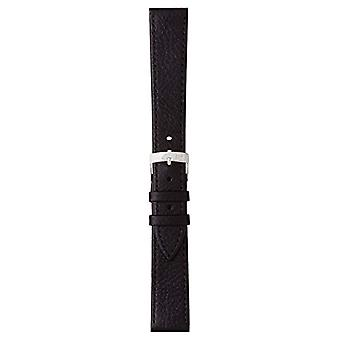 Morellato black leather strap 20 mm A01U0753333019CR20 DUBLIN man