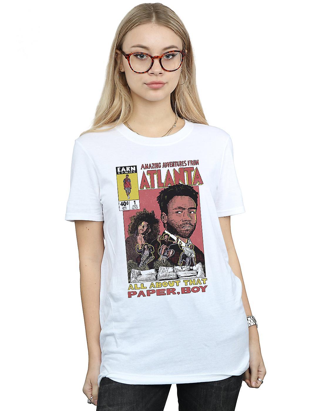Pennytees Women's Atlanta Adventures Boyfriend Fit T-Shirt
