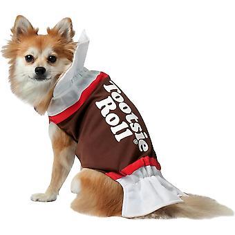 Tootsie Roll Hund Kostüm
