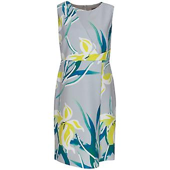 Michaela Louisa Sleeveless Floral Print Shift Dress