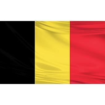 Belgia 3 x 5 stóp flagi tkaniny poliestrowej obywatela państwa