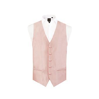 دوبيل رجالي فاتح الوردي صدرية العادية صالح دوبيون 5 زر
