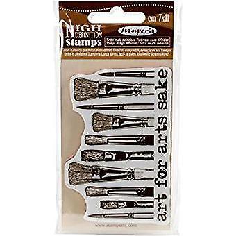 Stamperia Natural Rubber Stamp Brushes (WTKCC38)