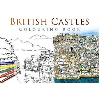 British Castles Colouring Book - 9780750970242 Book