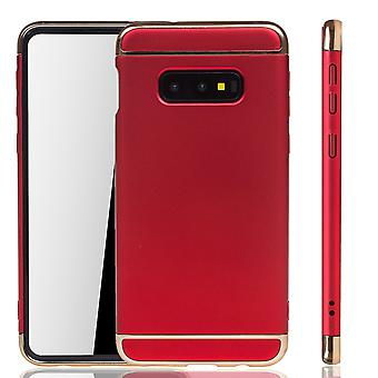 Samsung Galaxy S10e Puhelin kotelo suoja kotelo puskurin kova kansi punainen