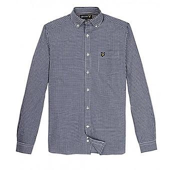 Lyle and Scott Long Sleeve Gingham Shirt