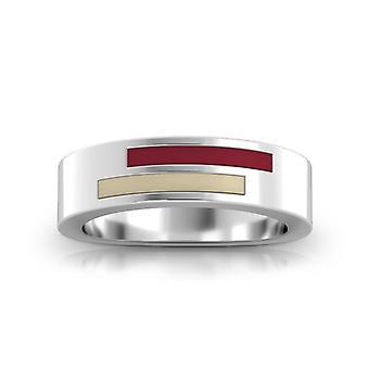 Boston College Ring In Sterling Silver Design by BIXLER