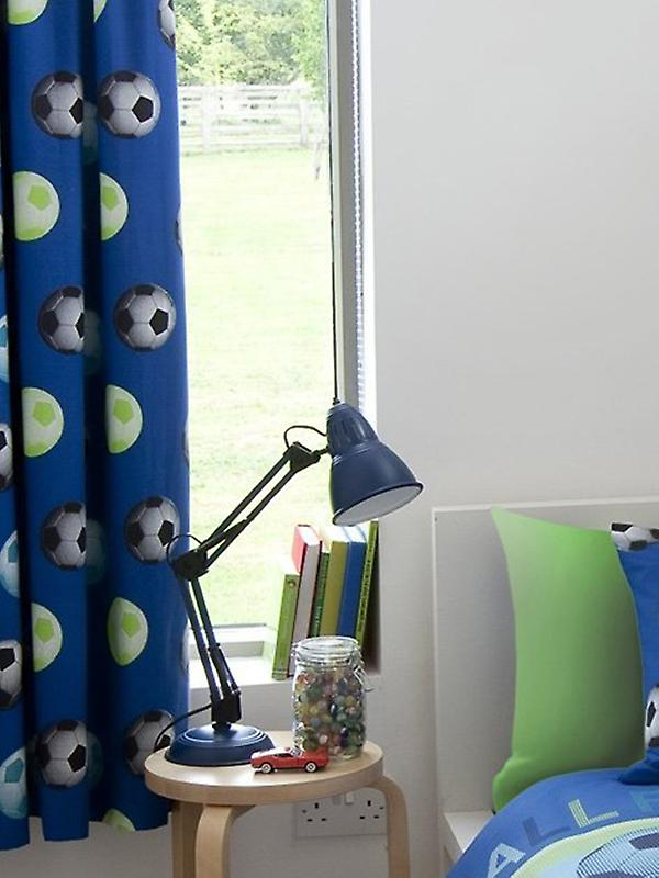 Catherine Lansfield Lined Football Curtains