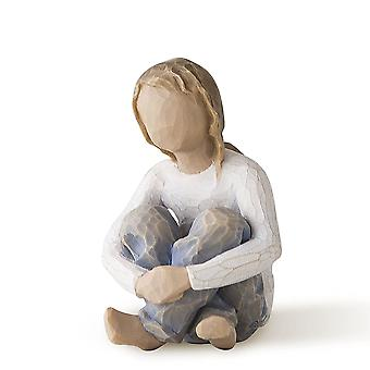 Willow Tree Spirited Child Hand Painted Figurine