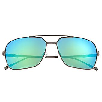 Sixty One Teewah Polarized Sunglasses - Gunmetal/Blue-Green