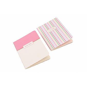 Willow & Rose werken Hard Notebooks (Set van 2)
