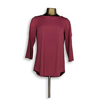 Joan Rivers Classics coleção mulheres ' s Top ombro frio rosa A299415