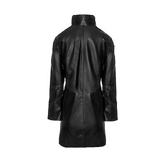 Ladies High Collar 5 Button Coat