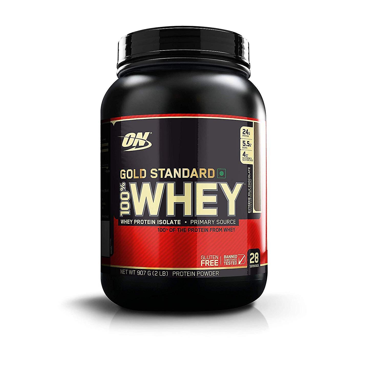 Optimum Nutrition Gold Standard 100% proteína Whey isolada