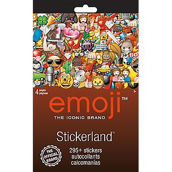 Stickerland Pad - Emoji - 4 pages Toys Gifts Stationery New st5298