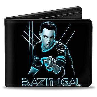 Wallet - The Big Bang Theory - V.1 Bi-Fold Toys New Licensed puw-bbtt