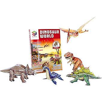 Legler Puzzle 3D Świat dinozaurów (Dzieci i niemowlęta , Zabawki , Gry planszowe)