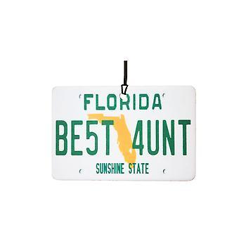 Florida - bedste tante licens plade bil luftfriskere