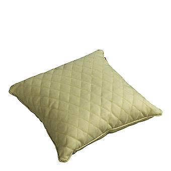 Beach7 | Kussen 'Quilted' |  Olive | accessoires