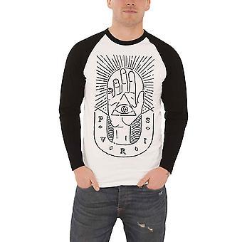 PVRIS T Shirt Mens band logo sketched Hand new white Official Baseball Shirt