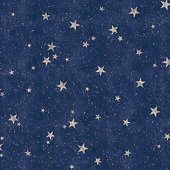 Crown Starlight stjärnor tapet