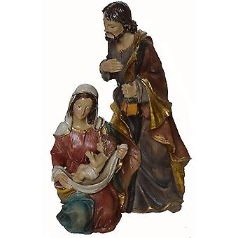 relatively large figure block St. Family (25 cm high) for Christmas crib snare crib accessories