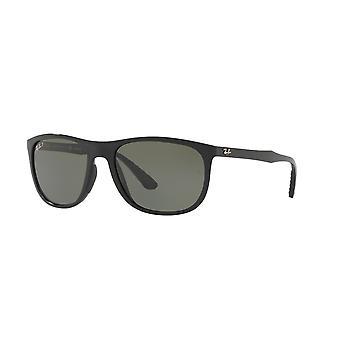 Ray-Ban RB4291 601/9A Black/Polarised Green Sunglasses