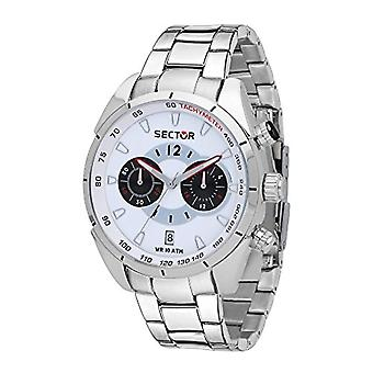 Sector Chronograph quartz men with stainless steel strap R3273794004