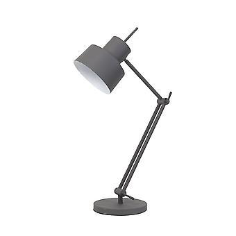 Mesa de luz y vida gris Wesly Ø20X75-95 Cm