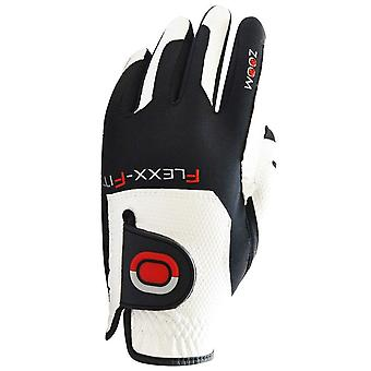 Zoom Womens Grip Instant-Fit Slip Resistant Leather Golf Gloves LH - One Size