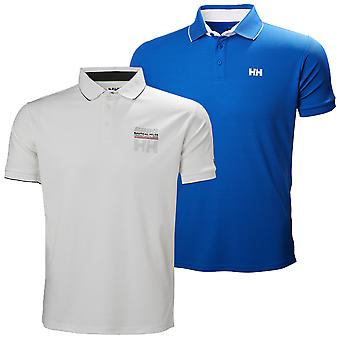 Helly Hansen Mens HP Racing Quick Dry Segling Polo Shirt Top