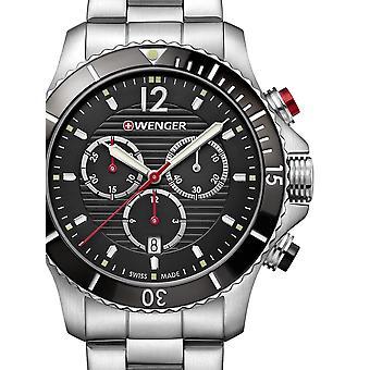 Wenger 01.0643.109 Seaforce chronograaf 43mm 20 ATM