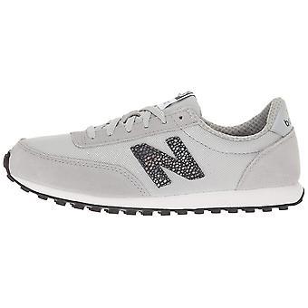 New Balance Women's 410 Lifestyle Fashion Sneaker, Silver Mink/Black, 6 B US