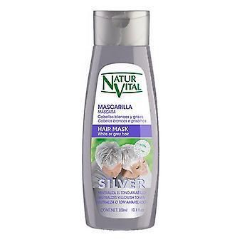 Maske til gråt hår Naturaleza y Vida (300 ml)