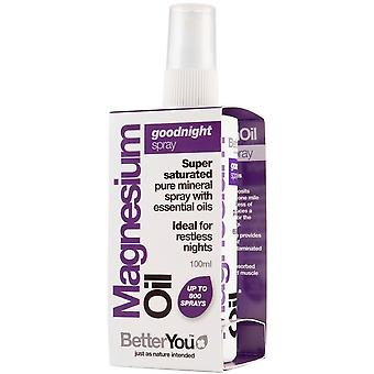 BetterYou Magnesium Oil Goodnight Spray 100 ml