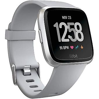 Fitbit Versa Health & Fitness Smartwatch with Heart Rate, Music & Swim Tracking, Grey