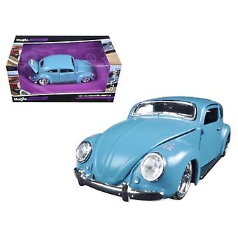 Volkswagen Beetle Blue \Outlaws\ 1/24 Diecast Model Car by Maisto