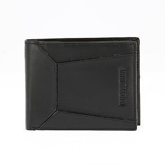 Italian A/Black Wallet - Arthur and Aston - Leather