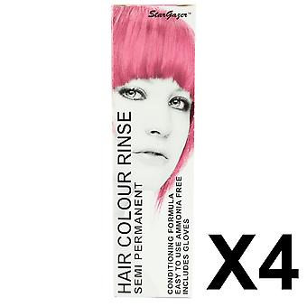 Semi Permanent Hair Dye by Stargazer - Baby Pink X 4 Packs