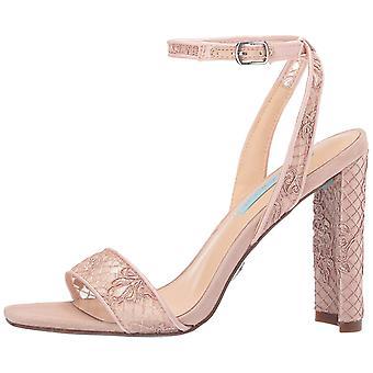 Betsey Johnson Womens kani Fabric Open Toe Casual Mule Sandals