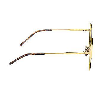 Óculos de sol polarizados Bertha Logan - Ouro/Marrom