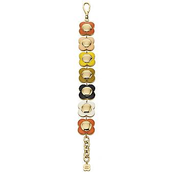 Orla Kiely Daisy Chain Multi Coloured Flower Bracelet