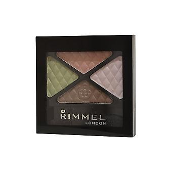 Rimmel London Glam Eyes sombra de ojos Quad 4,2 g flores urbano